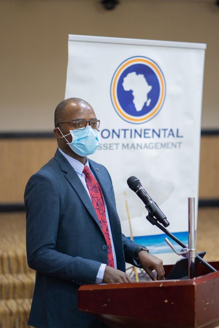 Group Financial Controller Mr. Kingsley Zulu making opening remarks